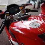 poste de pilotage du 1098 S Ducati