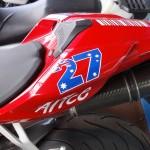 selle arrière du 1098 S Ducati