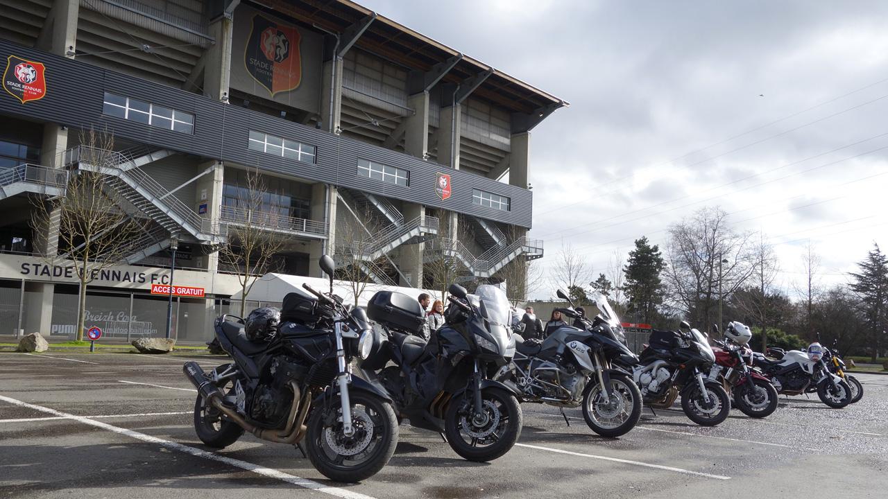 Motards Rennais au Stade Rennais