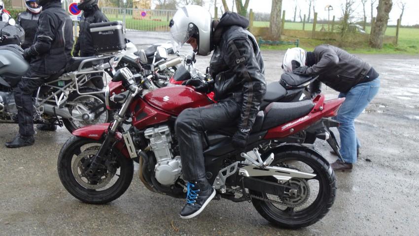 Alban, motard Rennais en Roadster