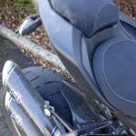 ambiance camouflage à moto Ducati