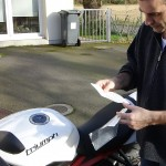 Clear protect moto, installation facile