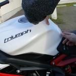 moto 3 roues : protection moto