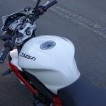 clear protect pour moto Triumph