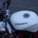 David Jazt recommande Clear Protect pour protéger sa moto des rayures