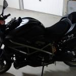 Ducati Street Fighter noir mat Rennes
