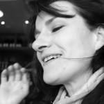 Magda à Cancale en février 2014