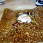 galette forestière au Breizh Café