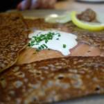 Galette galette Norvégienne au Breizh Café