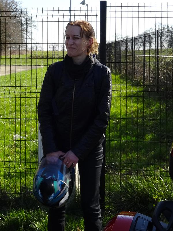 Agnès des Redwings : motarde dans l'âme