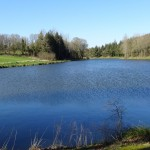 le lac du chateau de corlay