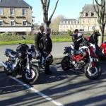 balade moto à Guingamp