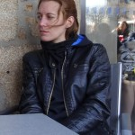 Agnès motard à Rennes
