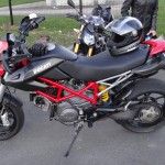 Ducati Hyper motard rouge