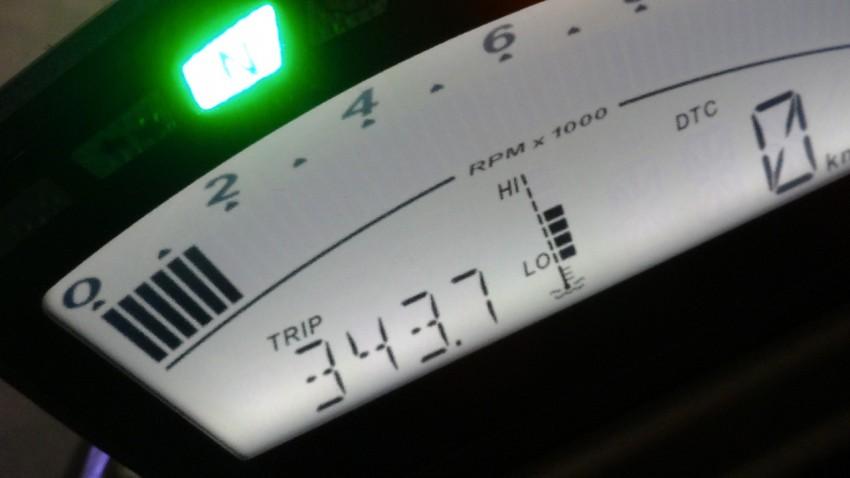 balade moto du 9 mars : 350km