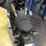 largeur de la moto BMW