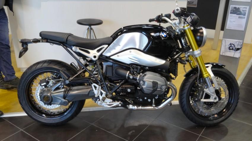 moto R Nine T BMW Rennes