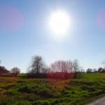 le soleil et la campagne
