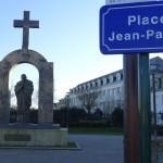 Place Jean-Paul 2 à Ploërmel