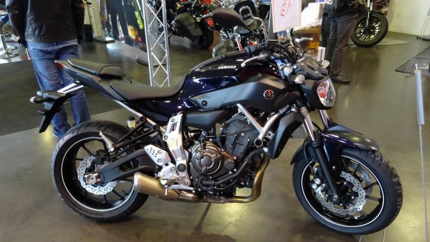 Yamaha MT 07 Rennes