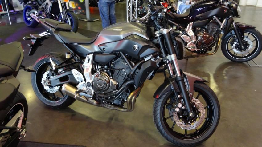 Planète Yam : MT 07 moto pour débutant