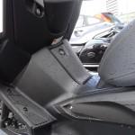 emplacement pour les pieds du Xmax 400 Yamaha