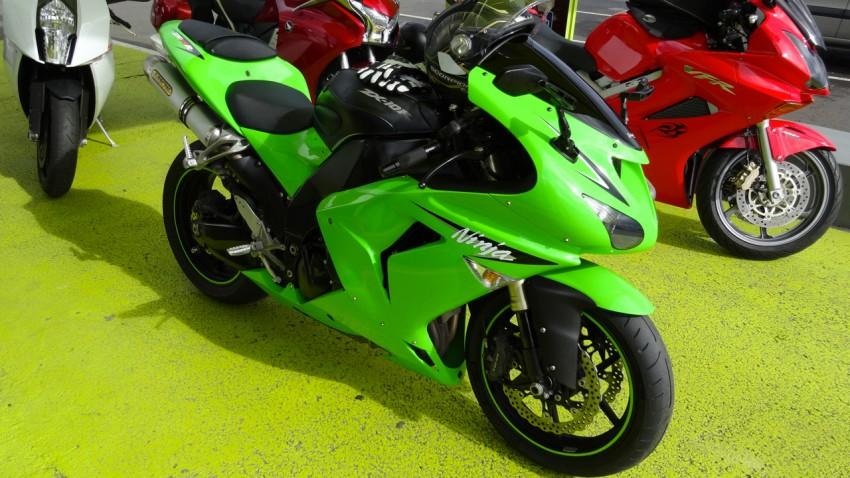 Kawasaki Nina ZX 10 R