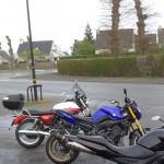pluie et froid en ce 23 mars à Rennes