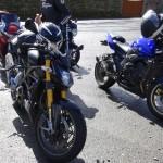 pause motarde à moto