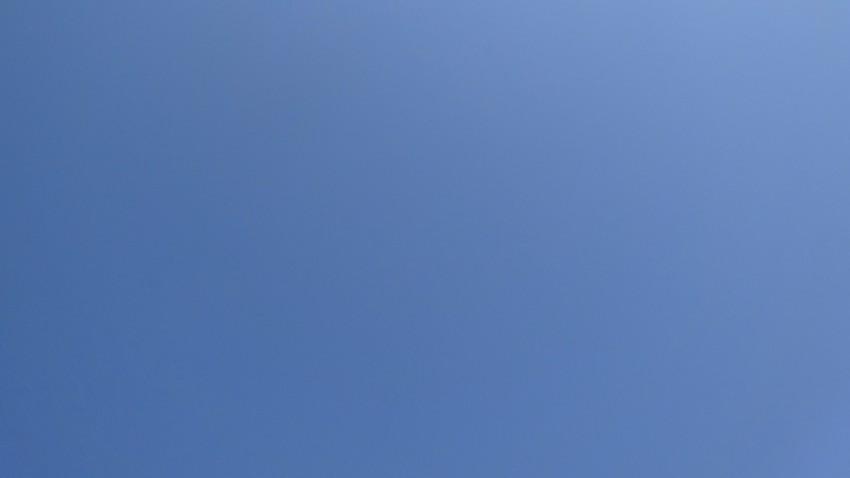ciel bleu en ce 30 mars 2014 à Rennes