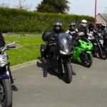 Saint-Malo de Phily : arrêt ou pause motarde