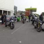 fin de la balade moto des Rennais à Bruz