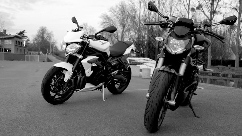 moto roadster à Rennes