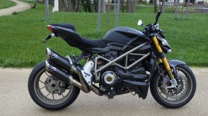 Ducati Streetfigter 1098 S en Bretagne