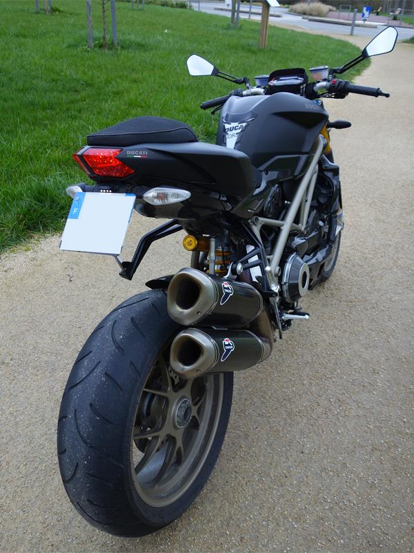 moto italienne de David Jazt