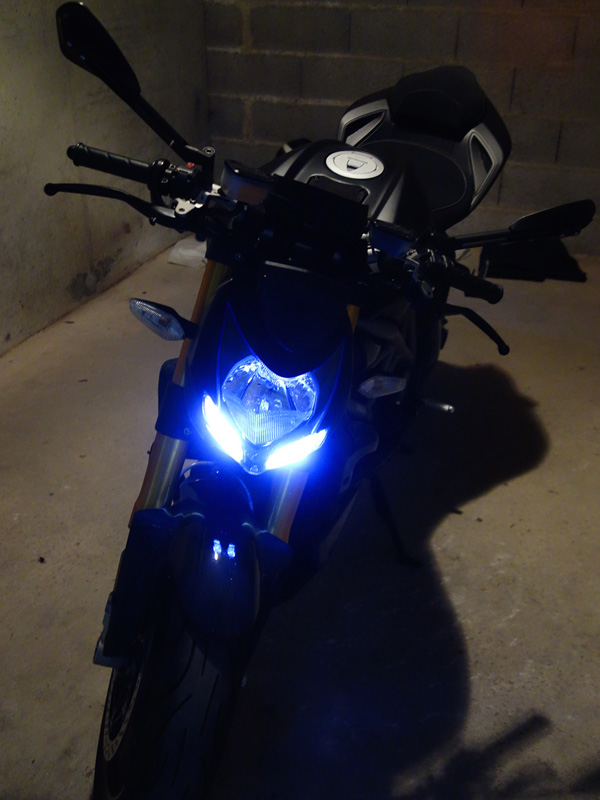 LED du Streetfighter 1098 S