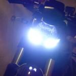 phare avant et les LED de la streetfighter