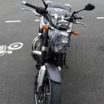 moto au gros coeur