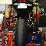 Dunlop Qualifer 2 sur le Streetfighter : mauvais choix