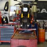 montage pas cher pneu avant moto
