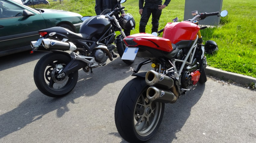 ancienne moto ducati de David Jazt