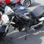 Ducati monster de lucie, motarde Ducati à Laval