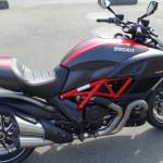 Superbe moto Italienne : Ducati Diavel