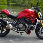 Ducati Monster 1200 S 2014 rouge chez City Bike à Laval