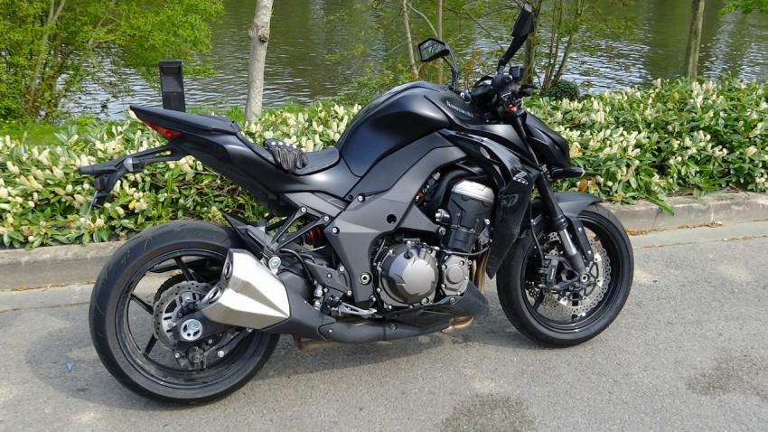 le Z, moto plus vendue chez Kawasaki