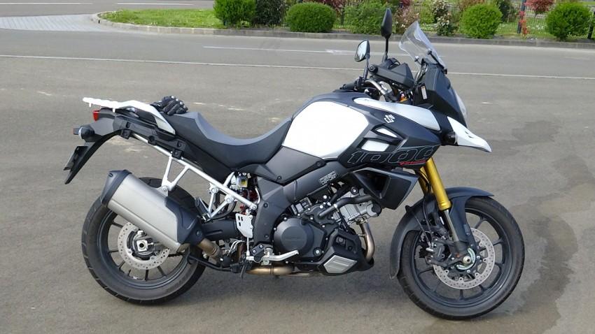 nouvelle moto suzuki 2014 : DL 1000