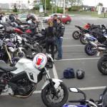 balade moto à Rennes du 13 avril 2014