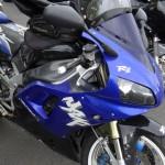 Yamaha R1 à Rennes