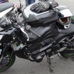 Kawasaki Z750 à Rennes