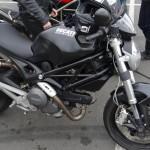 Ducati Monster 696 à Rennes
